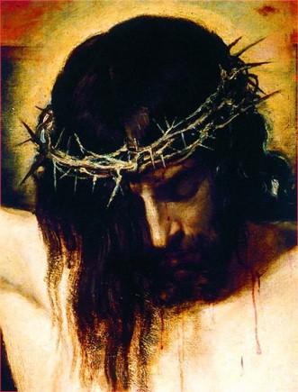 Господь на кресте