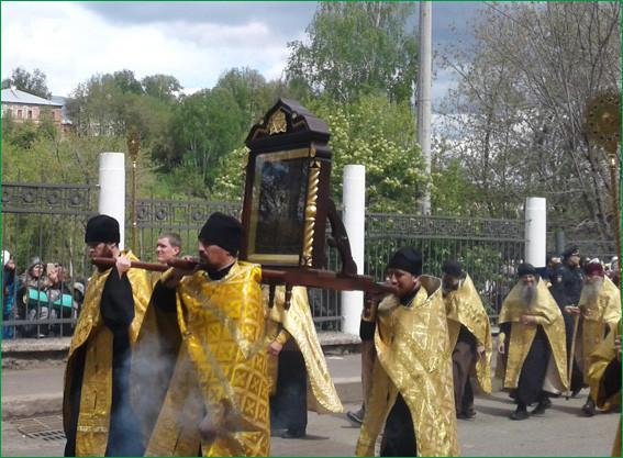 Великорецкая икона святителя Николая