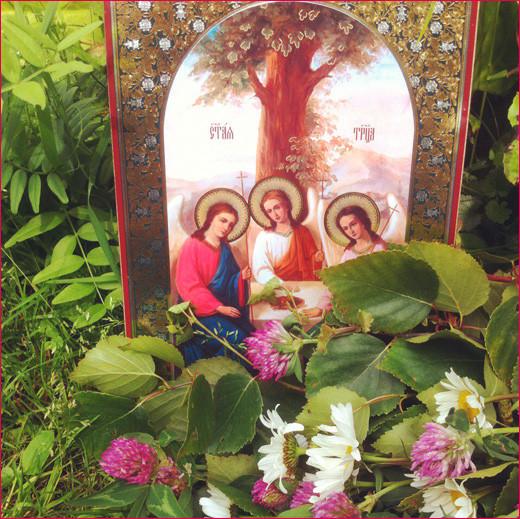 Икона Святой Троицы 1