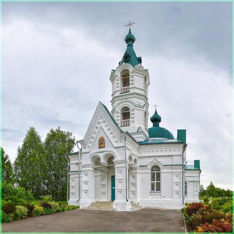 Константин Крохов храм Архангела Михаила в с Русском 2