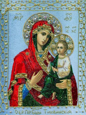 Тихвинская икона Божией Матери 1