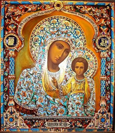 Казанская икона Божией Матери15