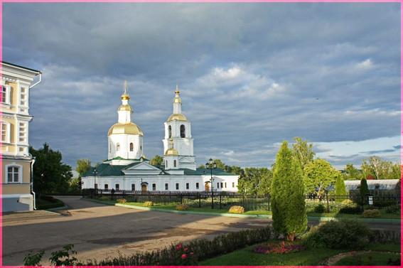 Казанская Церковь Серафимо-Дивеевского м-ря