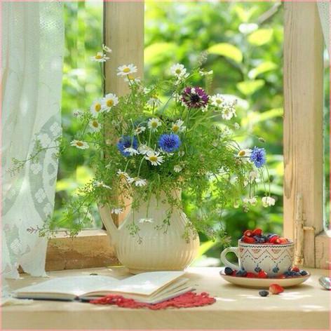 Букет полевых цветов 1