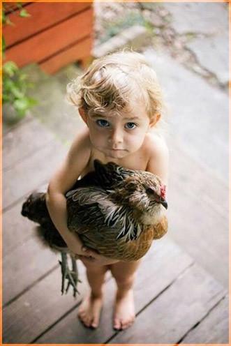 С курицей