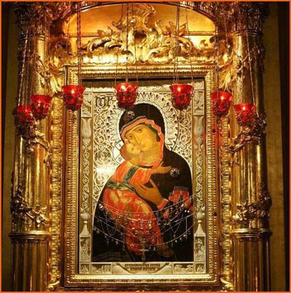 Владимирская икона Божией Матери 2