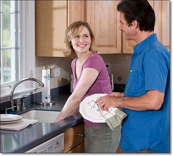 Муж на кухне 2