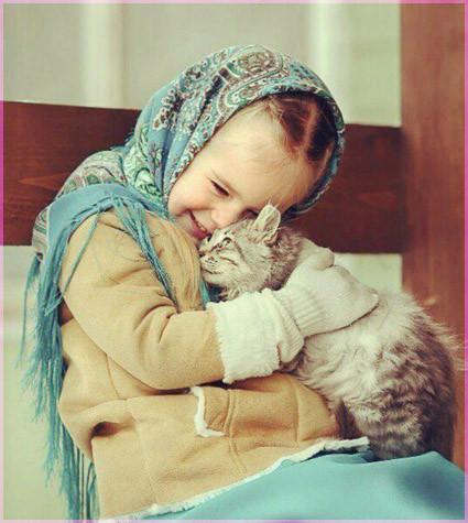 С котёнком 5