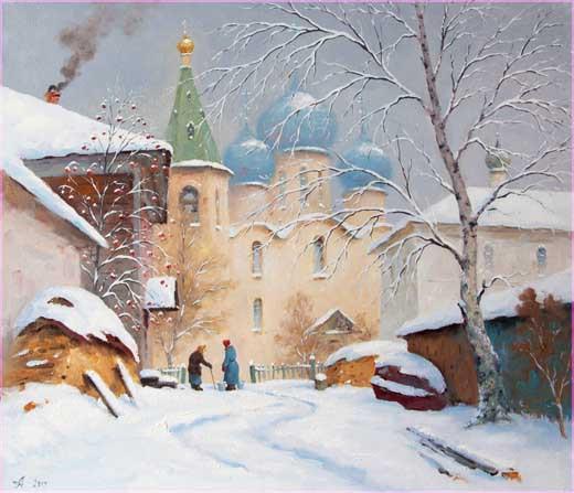 В начале зимы