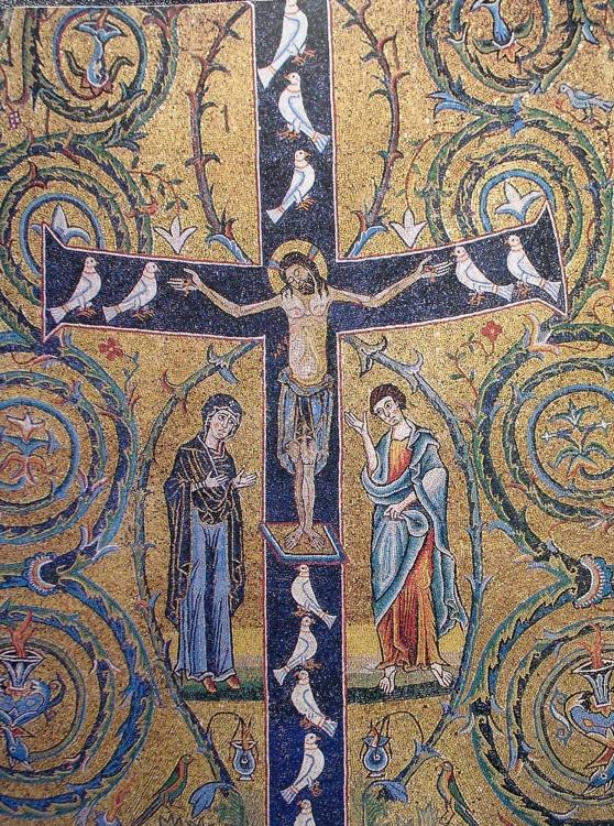 Mozaika_baziliki_San_Klemente_Mosaico_di_s.Clemente 6