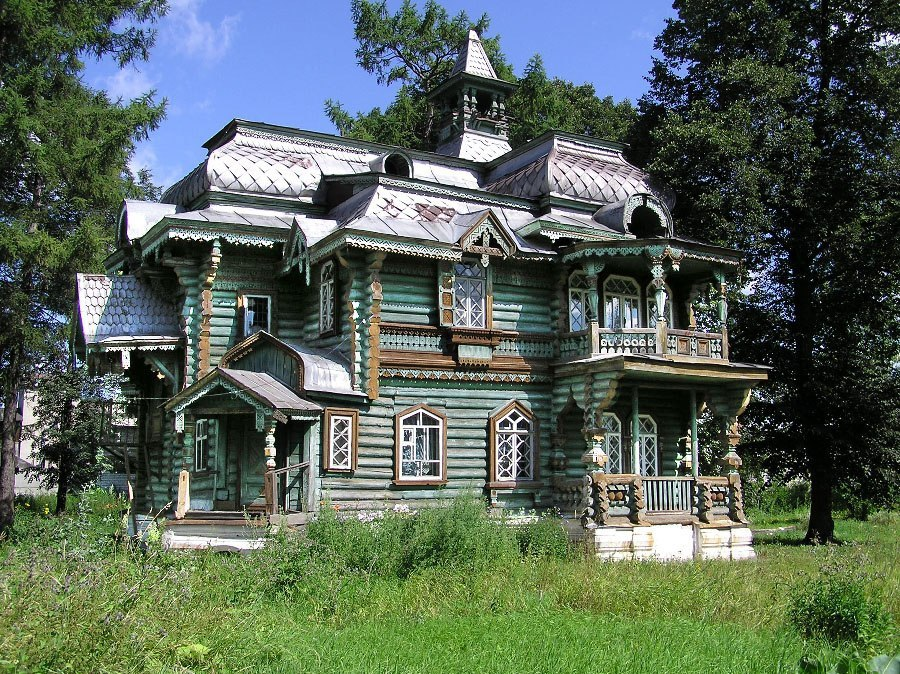 дача Н. Бугрова в Володарске
