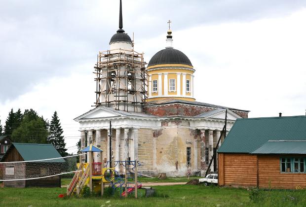 Храм Вознесения Господня в Дудино Тверской обл