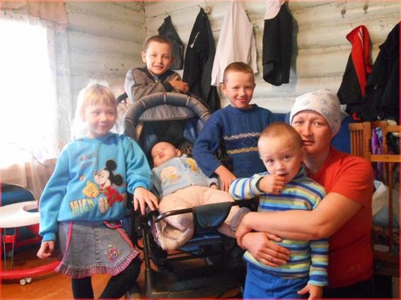 Семья из Башкирии