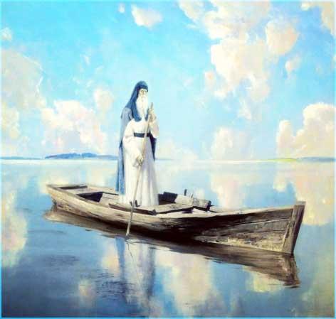 Старец в лодке