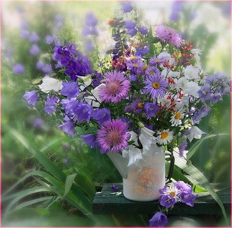Букет полевых цветов 2
