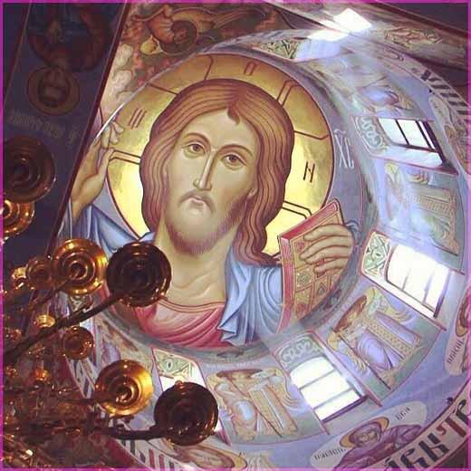 Господь в куполе храма 3