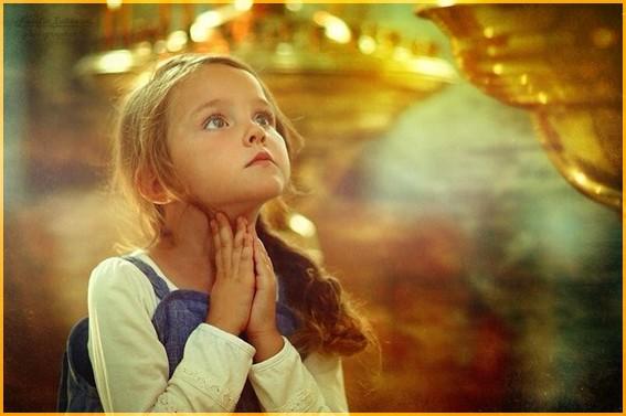 Молитва девочки