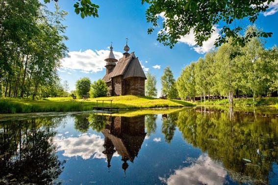 Кострома Церковь Всемилостивого Спаса.  Антон Агарков