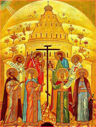 Воздвижение Креста Господня 3