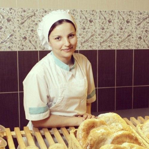 В пекарне