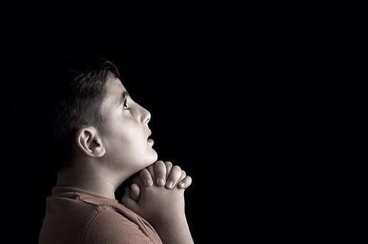 Молитва мальчика 1