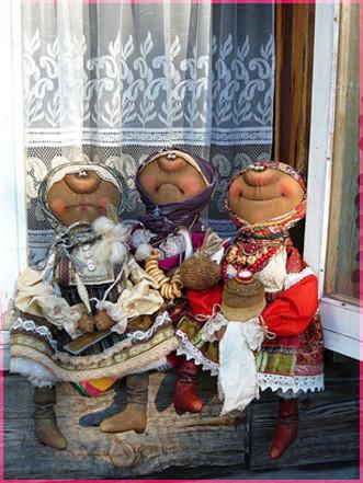 Три бабули