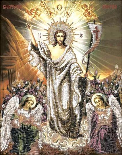 Воскресение Христово мозаика