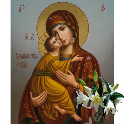 Владимирская икона Божией МАтери 7