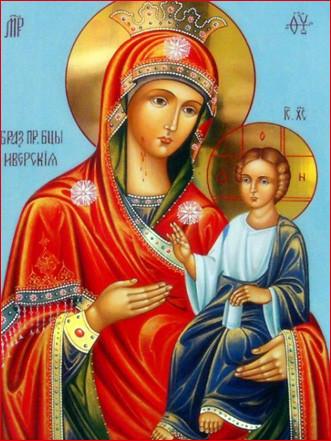 Иверская икона Божией Матери 4