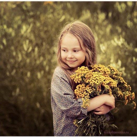 Букет жёлтых цветов