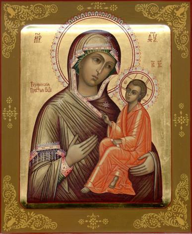 Тихвинская икона Божией Матери 2