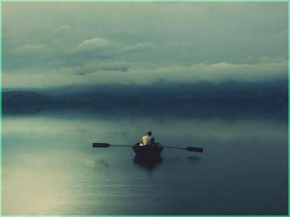 Один в лодке
