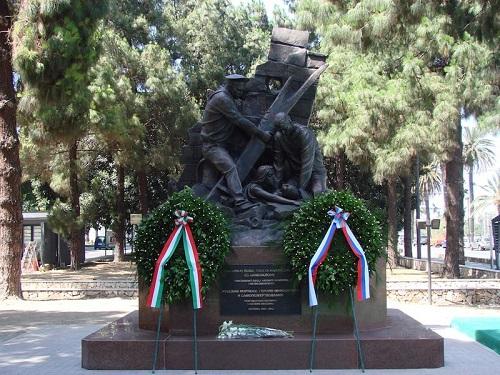 Памятник в Мессине русским морякам