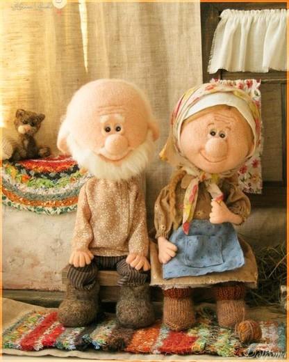 Дед и бабушка