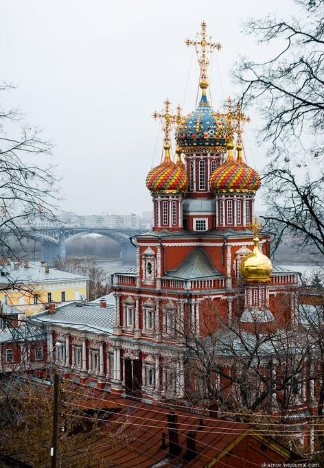 Н Новгород Строгановская церковь
