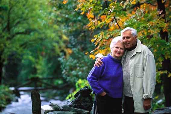 Пожилая пара 2