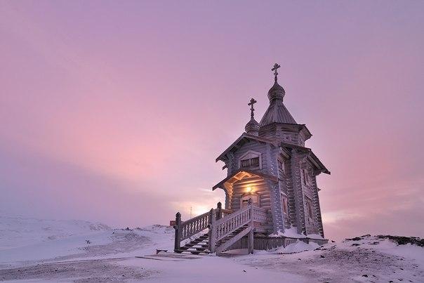 Храм Святой Троицы в Антарктике