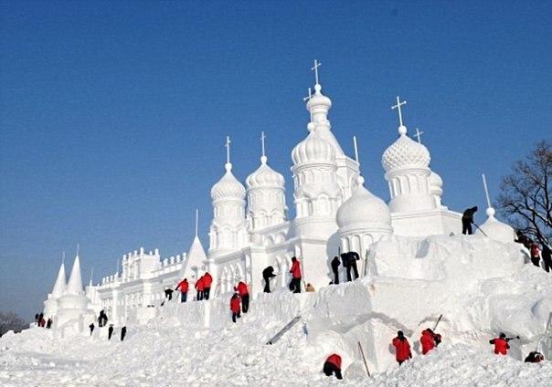 Снежный храм