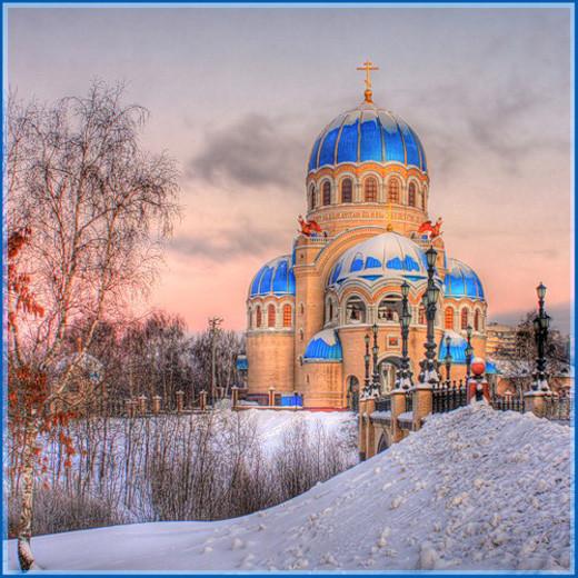 Храм Живоначальной Троицы в Борисово neoguru