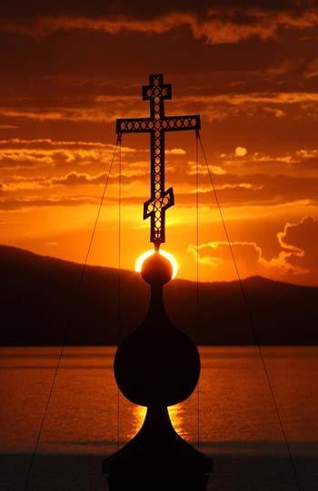 Крест и солнце