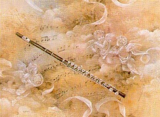 Ангел на флейте