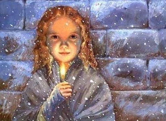Девочка со свечой 2