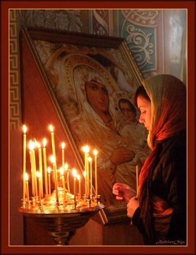 Молитва в храме 2