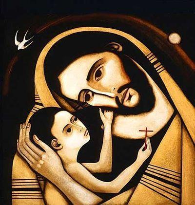 Христос и мальчик