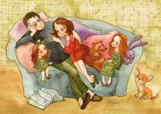 Счастливая семья