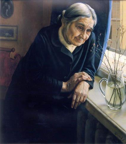 Мать-старушка