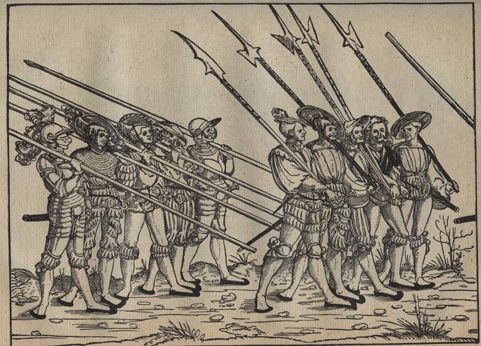 Ландскнехты Бехайма, 1540 г.