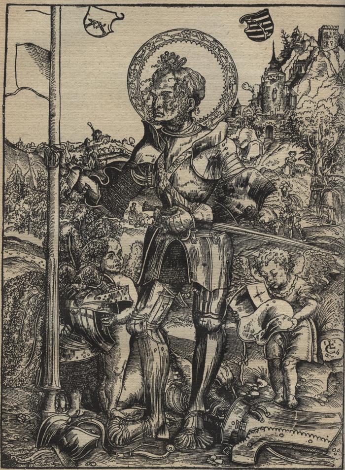Святой Георгий как ландскнехт