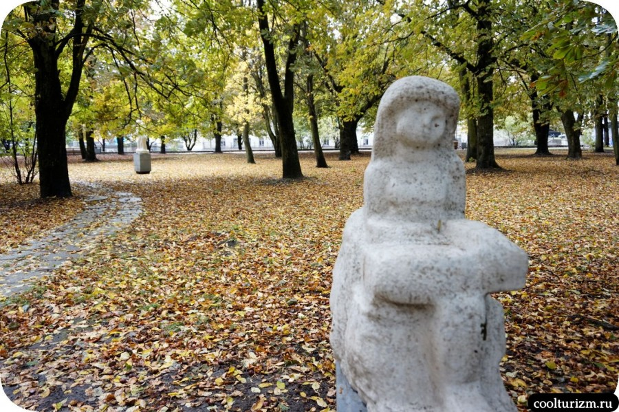 Парк скульптур остров Канта Калининград