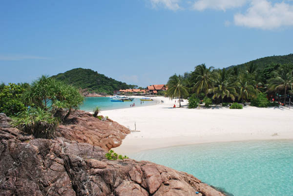 один из пляжей на острове Реданг